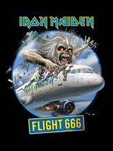 IRON MAIDEN: FLIGHT 666 T-SHIRTS